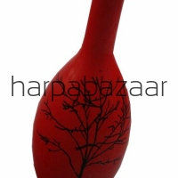Wazon  Red Tree